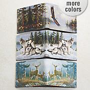 wildlife rfid thin fold wallet by buxton