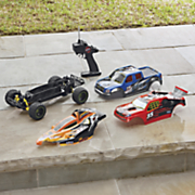 remote control triple threat vehicle