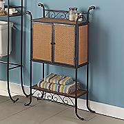 rattan towel cabinet 21