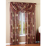 jasmine printed window treatments