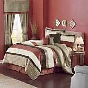 Brightwood 6-Piece Bed Set and Window Treatments
