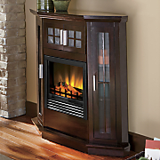 electric window fireplace