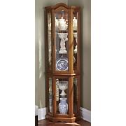 Lit Arch Curio Cabinet