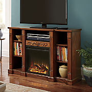 entertainment fireplace