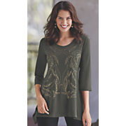 Pressed For Time Tunic