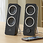 2 0 channel speaker system by logitech