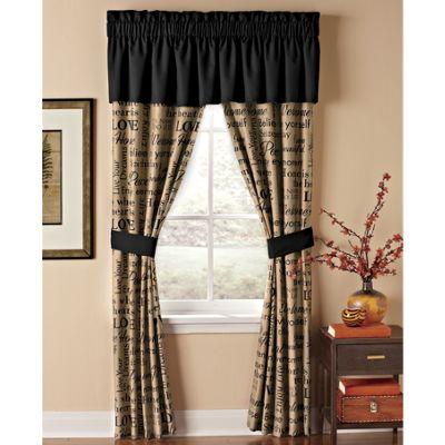 Home Sweet Home Window Treatments