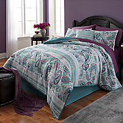 Giverny Comforter Set, Window Treatments and Decorative Pillow