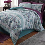 giverny comforter set  window treatments and decorative pillow