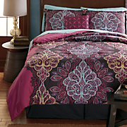 Andromeda Comforter Set, Decorative Pillow and Window Treatments