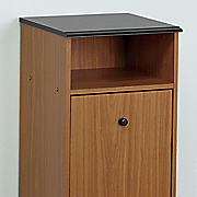 haley pull down cabinet trash bin