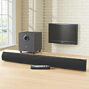 37  wireless sound bar with subwoofer by ilive