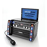 lighted karaoke machine by akai
