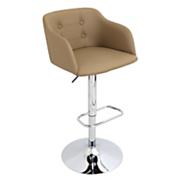 campania adjustable bar stool