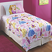 bedazzling princess sheet set by disney