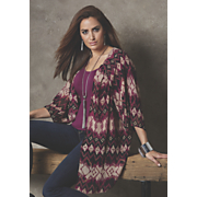 ikat sheer duster 63