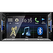 multimedia touchscreen receiver with dvd  cd and bluetooth by jvc