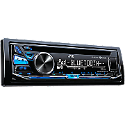 am fm digital receiver with cd  bluetooth and front usb aux input by jvc