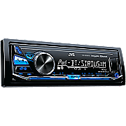 Digital Media Receiver with Bluetooth and Front USB/AUX Input by JVC