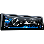 digital media receiver with bluetooth and front usb aux input by jvc