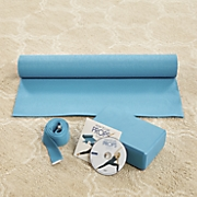 beginner yoga kit by yoga essentials