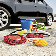 5 pc  car cleaning kit