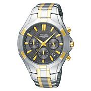 Pulsar Men's Two-Tone Chrono Watch