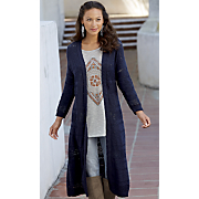 danica duster sweater