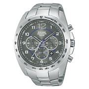Pulsar Men's Stainless Steel Tachymeter Chrono Watch