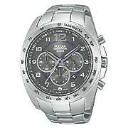 seiko men s stainless steel tachymeter chrono watch