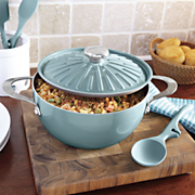 rachael ray cucina oven to table 4 5 qt  covered round casserole