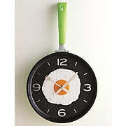 fry pan egg clock