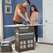 laundry and ironing station