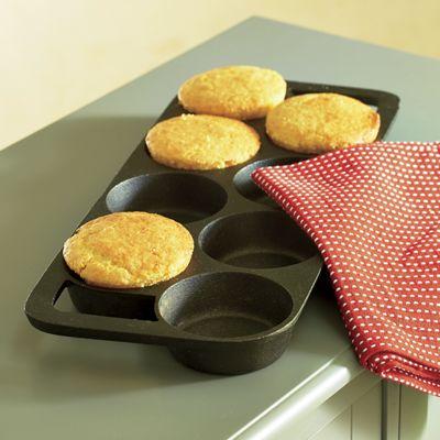 8-Biscuit Cast Iron Pan