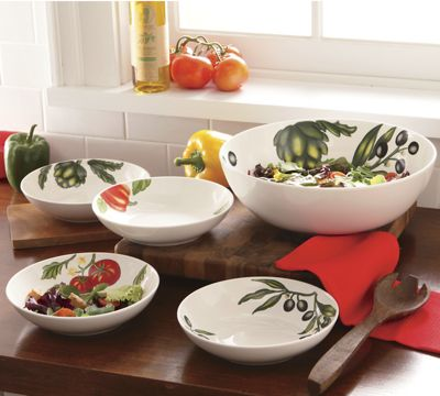 5-Piece Pasta/Salad Bowl Set