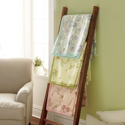 Cotton-Blend Print Blanket