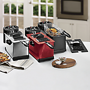 Chef Tested 3 5 Qt Fryer with Timer by Montgomery Ward and Set of 3 Deep Fryer Filters
