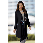 paisley embroidered duster