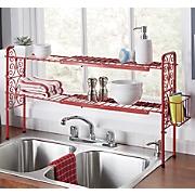 expandable sink shelf