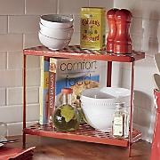 2 tier corner shelf 95