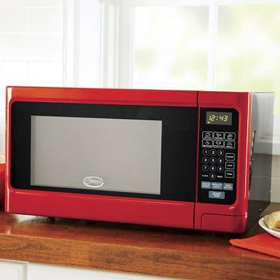 Ginnys Brand Red Metallic Microwave From Montgomery Ward