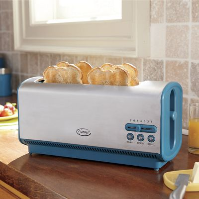 Ginny's Brand Long 4-Slice Toaster