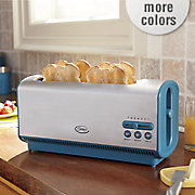 ginny s brand long 4 slice toaster