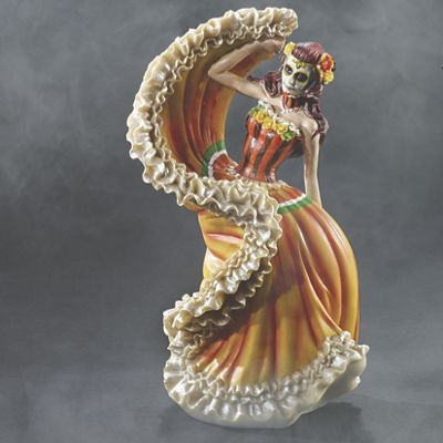 Catrina Day of The Dead Dancer Figurine