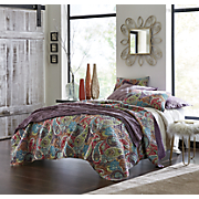 tristan oversized quilt and sham