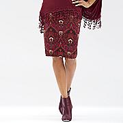 moroccan paisley skirt