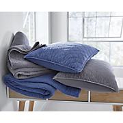 Vintage Wash Oversized Quilt and Sham