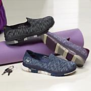 women s go flex digital print slip on shoe by skechers