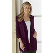 Freshica® Button Front Long Cardigan by Montgomery Ward
