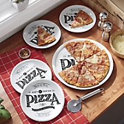 6 pc  pizza set